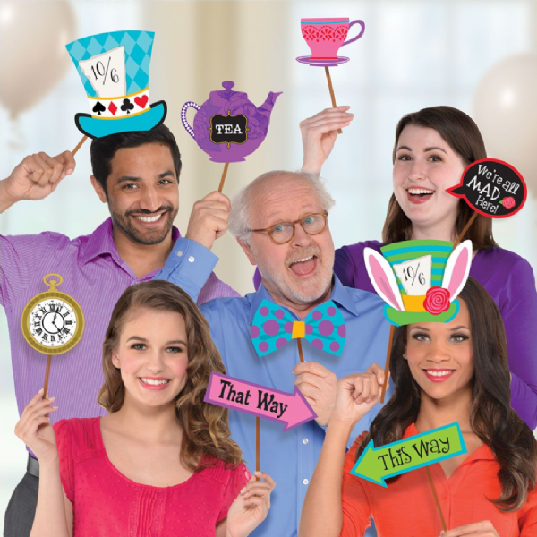 Mad Tea Party Photo Booth Kit
